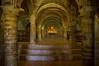 Santa Maria Della Rocca - Interno (G.Sartori.510) Tags: pentaxk3 smcpentaxda1650mmf28edalifsdm santamariadellarocca chiesaxivsecolo xivcenturychurch offida ascolipiceno marche