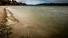 Malbuisson . Lac de Saint Point (alain.deroubaix) Tags: 2017 typephoto lacdesaintpoint géographie hautjura automne paysage poselongue techniquephoto