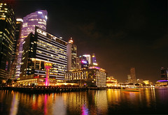 Skyline3 (vic_206) Tags: singapur night noche nocturna luces lights