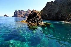 477542412 (bufsom) Tags: wildlifereserve turquoisecolored nature corsica rockobject water scandola