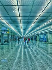 Midnight at IAD..... (tomk630) Tags: airport iad midnight colors lights quiet night