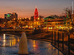 Holiday Lights at Country Club Plaza, 23 Dec 2016 (photography.by.ROEVER) Tags: christmas holidays holidaylights theplaza countryclubplaza kc kansascity december2016 2016 dusk evening missouri usa