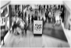 SALE! (aviana2) Tags: shop ikea sale crowd people buying moving motion