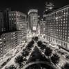 "The ""X"" (Vernamm2) Tags: explore boston city scape ville vacation travel bnw street route skyscrapper skyscaper 2017 double exposure nikon night"