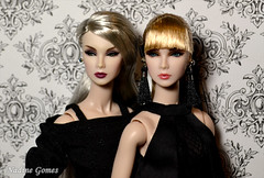 Lilith & Eden Blair (Nadine Gomes) Tags: fashion royalty wclub integrity toys nu face poetic beauty lilith eden blair gift set doll 2017 exclusive smoke mirrors