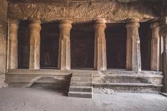 Mumbai - Bombay - Elephanta Island caves