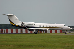 N999AA Gulfstream IV/SP. Stansted 06/07/2016 (Tu154Dave) Tags: n999aa grumman gulfstream g4 giv givsp stn stansted london corporate business
