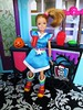 🎃 Costume Party 🎉 (flores272) Tags: stacie staciedoll rainbowbright rainbowbrite halloweenparty costumeparty barbiedoll barbie doll dolls toy toys monsterhighfurniture dollclothing dollfurniture