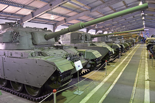 British Tanks at Kubinka Tank Museum