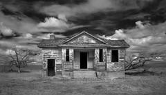 Pawnee Valley School - Infrared (eDDie_TK) Tags: colorado co logancountyco logancounty pawneevalleyschool rural rurallife ruralliving ruralschools schools school infrared ir