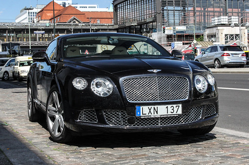 Sweden - Bentley Continental GT 2012