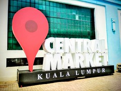 Central Market (Pasar Seni) - 10, Jalan Hang Kasturi - http://4sq.com/6zeJGX #travel #holiday #building #food #Asia #Malaysia #KualaLumpur #旅行 #度假 #建筑物 #亚洲 #马来西亚 #吉隆坡