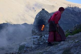 Incense burner of Rongphu, Tibet 2017