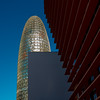 _DSC1319 (durr-architect) Tags: torre agbar tower barcelona jean nouvel modern high tech architecture rise bullet shape cylinder glass surface