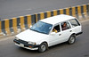 Mazda Familia station wagon, Bangladesh. (Samee55) Tags: bangladesh dhaka carspotting 2017 regularcar carsofdhaka mazda familia