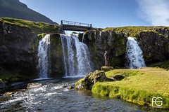 The man near the waterfall (Fabien Georget (fg photographe)) Tags: cascade islande water rocks longexposure landscape paysage sky ayezloeil beautifulearth bigfave canoneos600d canon elitephotography elmundopormontera eos fabiengeorget fabien fgphotographe flickr flickrdepot flickrunited georget geotagged flickunited longue mordudephoto nature paysages perfectphotograph perfectpictures wondersofnature wonders supershot supershotaward theworldthroughmyeyes shot poselongue photography photo greatphotographer french skogar bluehour granit sunset slowshutter blue hour heure bleue iceland eau waterfall waterscape