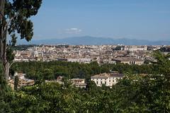 Rom - Blick vom Piazzale Giuseppe Garibaldi -  Gianicolo-Hügel (okrakaro) Tags: roma rom rome piazzalegiuseppegaribaldi gianicolohügel stadtansicht cityscape september 2017 italia