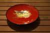 Hand painted lacquered plate (Juan Manuel Bautista Hoepfner) Tags: japan ceremony tea matcha handicraft