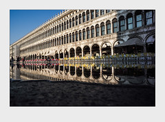 Reflection. (go4silver) Tags: venedig venice markusplatz spiegelung reflection st marks square