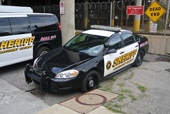 Allegheny County Sheriifs Office (Emergency_Spotter) Tags: black and white blackandwhite art america pushbar push bar fwd allegheny county sheriffs office code3 code whelen liberty javelin 911 police cop cops law justics chevrons spotlight spot chevy 9c1 bowtie dial court reflective pennsylvania pittsburgh redandblues impala setina countypolice acso