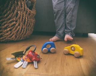 Cars and keys, but I prefer my feet