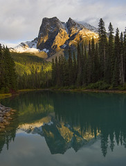 Perfect Reflection(Emerald Lake, Yoho NP, BC, Canada) (Sveta Imnadze) Tags: emeraldlake britishcolumbia canada yohonp