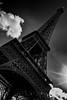 Paris eiffel tower (D.Kafka) Tags: monochrome bw cbiogon a7r2 digital sony zm 2145 paris eiffel tower sky