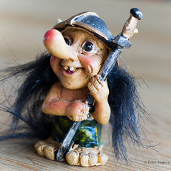 Norwegian troll (Peter Jaspers (sorry less time to comment)) Tags: frompeterj© 2017 olympus zuiko omd em10 1240mm28 macro macromondays souvenir troll norway home viking scandinavian folklore mythology 500x500 square vikingtroll norge