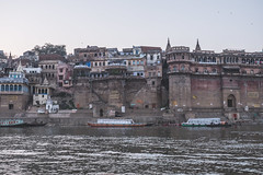 Varanasi - Ganges River - boat ghats-9