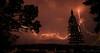 (saajithazeez_6) Tags: red lightning nightphotography nature nikon d750 2470mm28 thunderstorm saajithazeez
