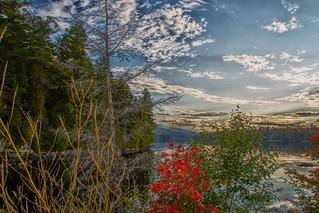 Lake Placid  -  New York ~ Sunset Reflection Off Lake