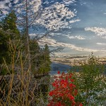 Lake Placid  -  New York ~ Sunset Reflection Off Lake thumbnail