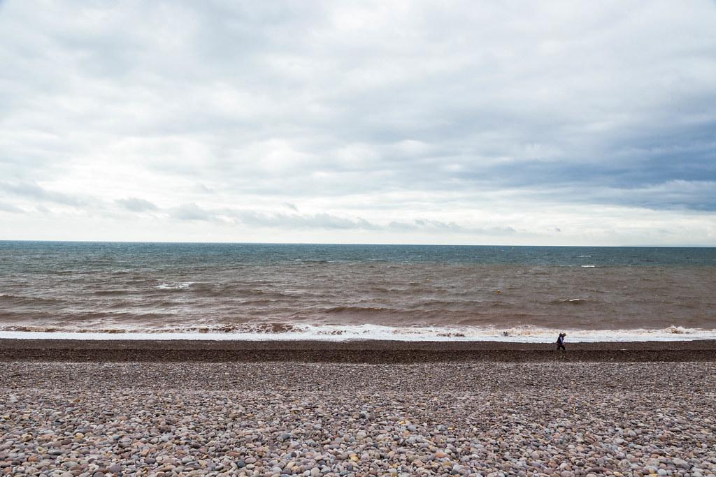 Pebbles, Sea, Sky