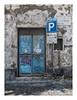 Parking (Rory Prior) Tags: europe italy naples autumm cobbles graffiti parking sign street tatty vomero