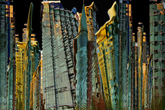 Warp Vancouver (petejam70) Tags: cityscape urban surreal street arcitecture artistic vancouvercanada building wonder magic