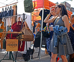 Tenden (tacosnachosburritos) Tags: 2017 renegade craft fair summer chicago neighborhood westtown wickerpark east village sexy hot gorgeous beautiful man guy woman girl chick lady milf humanity people shopping booth tent vendor artist artisan hipster trendy fashion winy city urban gritty thestreets street photography