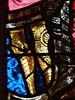 ca. 1360-1365 - 'Crucifixion, scenes from the Passion of Christ', Collégiale Saint-Florent, Niederhaslach, dép. Bas-Rhin, France (RO EL (Roel Renmans)) Tags: 1360 1365 window stained glass verrière glasgemälde fenster vitrail vitral glasinlood scenes niederhaslach bas rhin france german collégiale saint st florent florentius church kirche église iglesia armor armour 14th century christ vitraux jesus jeanbaptiste glasmalerei mail kettenhemd cotte de mailles hauberk studded gauntlet bascinet beckenhaube poleyn greave cuisses cuisse golden roundel rondel