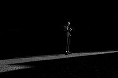 Spotlight in Charlottenborg (Jan Jespersen) Tags: denmark københavn platea plateastreetphotocollective bw blackandwhite city citylife copenhagen monochrome street streetphoto streetphotography urban urbanlife urbanscene urbanscenes