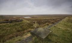 Barbrook Reservoir (l4ts) Tags: landscape derbyshire peakdistrict darkpeak barbrookreservoir bigmoor disused heather moorland easternmoorspartnership lowcloud