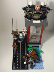 Clone Command Base on Ilum MOC (501st DESIGNS) Tags: lego star wars clone command base ilum