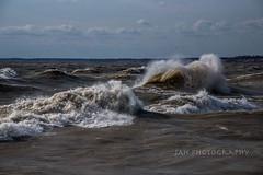 Dance (jah32) Tags: water waves spray lakeerie lake lakes greatlakes thegreatlakes autumn fall portstanley port poc ontario canada dance dancing poetry poem song songbook