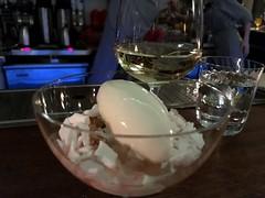 Damson Fool, Sheeps milk ice cream from The Clove Club in London (Fuyuhiko) Tags: damsonfool sheepsmilkicecreamfromthecloveclubinlondon クローバー クラブ モダン ブリテイン 英国 料理 michellin one start 一つ星 ミシュラン 倫敦 ロンドン イギリス イングランド england britain british london