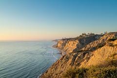 Torrey Pines Coast At Sunset (Chuck - PhotosbyMCH.com) Tags: photosbymch landscape seascape sunset torreypines sandiego california usa 2016 canon 5dmkiii pacificocean coast shoreline beach summer cliffs waves outdoors