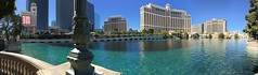 Bellagio Fountains Pano (BKHagar *Kim*) Tags: bkhagar lasvegas nv pano bellagiofountains water fountains cityscape