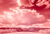 Ultragreen Vienna - Schoenbrunn #3 (klumprob) Tags: gloriette schönbrunn infrared clouds sky wien vienna austria österreich