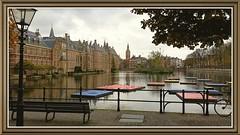 Hofvijver et Binnenhof, Den Haag - Pays-Bas (Chaufglass) Tags: denhaag holland hollande lahaye hofvijver benninhof thenetherlands thehague