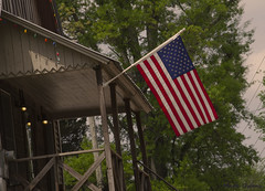 Proud of our flag... (mark owens2009) Tags: usa americanflag proud noknee standingproud godblessamerica
