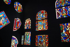 Paris (mademoisellelapiquante) Tags: museedecluny medieval medievalart middleages arthistory artmuseum paris france stainedglass