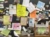 (HumanArtistVendingMachine) Tags: sheetz communityboard foundart ads postit businesscards selfhelp