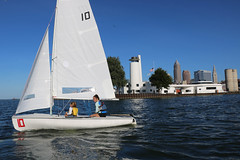 IMG_0568 (Foundry216) Tags: sailing sailor lake erie sail c420 water sports thisiscle cleveland